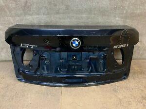2014 2015 2016 2017 BMW 535i GT Trunk Lid Shell Cover Dark Blue OEM