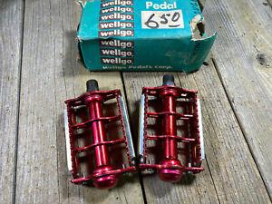 OLD SCHOOL BMX MX RAT TRAP PEDALS 9/16 THREADS RATRAP PEDALS NOS OLDSCHOOL BMX