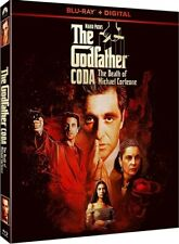 Mario Puzo'S The Godfather Coda The Death Of Michael Corleone New Sealed Blu-ray