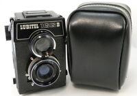 ⭐NEW⭐ 1989! LOMO LUBITEL-166B Russian Soviet USSR TLR Medium Format 6x6 Camera