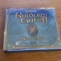 Baldur's Gate II 2  Edition Shadows of Amn Complete 4 disc PC