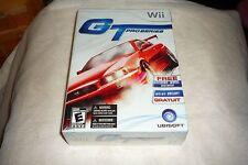 GT Pro Series (Nintendo Wii, 2006) GAME & WHEEL BUNDLE NEW & SEALED
