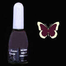 Vernis à ongles prune - grand flacon 15ml - Damson N°18 de La Femme