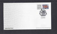 GB 2016  Post & Go Royal Navy Battle of Jutland Union Flag 1st Class FDC SW1 pmk