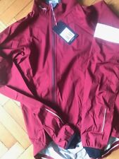 RAPHA CLASSIC RAIN JACKET DEEP RED   - S size