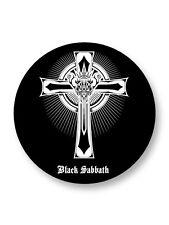"Pin Button Badge Ø25mm 1"" Black Sabbath Rock Heavy Metal UK War Pigs"