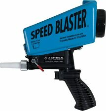 SpeedBlaster Gravity Feed Hand Held Media Blaster - Blue
