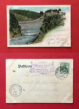 Litho AK MARKLISSA am Queis 1904 Talsperre   ( 40418