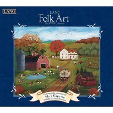 2019 Lang Folk Art Wall Calendar, Lang Folk Art by Lang Companies
