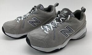 New Balance 608v4 Men's Size 8.5 4E Athletic Training Shoes Gray Suede MX608V4G