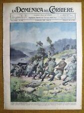 La Domenica del Corriere 3 settembre 1933 Mussolini-Varese-Angera-Mediterraneo
