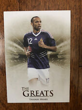 2018 Futera Unique GREATS Football Soccer Card France THIERRY HENRY Mint