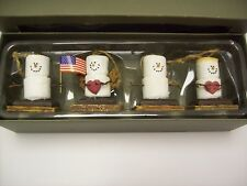 4 S'mores - Midwest Seasons of Cannon Falls Original Collection Ornaments-New