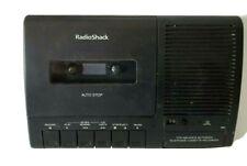 Radio Shack Reproductor de teléfono activado con voz cassette grabador TCR-200