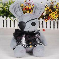 Ciel Phantomhive Black Butler Anime Japan Pirate Bunny Plush Doll Toy Collection