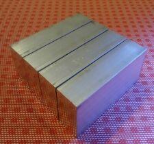 4 Pc 1 X 2 X 4 Aluminum 6061 T6 New Solid Plate Flat Bar Stock Mill Block Mt