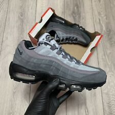 NIKE AIR MAX 95 ANTHRACITE BLACK/WOLF GREY TRAINERS   SIZE UK 6   AT9865-008