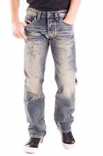 DIESEL LARKEE WASH 0828D D.N.A. Worn Look Straight Jeans Denim W27 L32