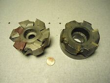 Kennametal KSSR-3-SP4-15 Iscar F90-D80/3-1.00 Face Mill Cutter Lot of 2