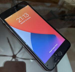 Apple iPhone 6s Plus - 64GB -funzionante-Sbloccato-(vetro Rotto)