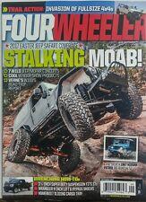 Four Wheeler Sept 2017 Stalking MOAB Jeep Safari Coverage 4x4 FREE SHIPPING sb