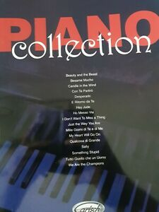 Piano Collection for piano, voice and guitar - sheet music