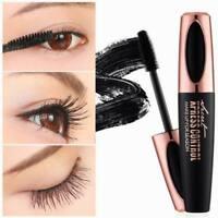 4D Silk Fiber Eyelash Mascara Extension Makeup Black Waterproof Eye Lashes kIt