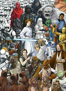 Photo wallpaper Star Wars kids bedroom wall mural giant poster decor 100x72inch
