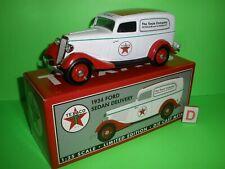 1934 FORD Sedan Delivery Truck Panel Van TEXACO Liberty Classics 1:25 NEW D