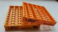 2 Display Tays 50 Bic Lighters Trays Full Size Empty Counter Top Display Racks