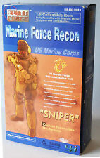 """BBI Elite Force Marine Force Recon 'SNIPER' Collectable 12"""" Figure- NEW"""