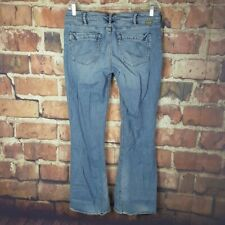 Silver Jeans Lael Womens Size 33 Distressed Boot Cut 31 Inseam