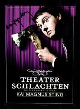 Kai Magnus Sting Autogrammkarte Original Signiert # BC 69310