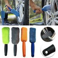 Vehicle Car Motorcycle Wheel Tire Rim Scrub Brush Cleaner Washing Cleaning Tools