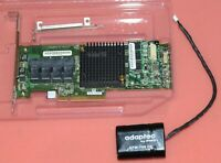 NEW Adaptec ASR-71605 1GB Cache 16-Port 6Gbps Raid Controller + Battery