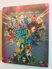 Suicide Squad 3D Bluray Steelbook (2D Extended, 3D Theatrical + 2D Theatrical)