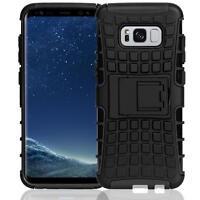 Samsung Galaxy S8 Hülle Outdoor Case Handy Cover Schutzhülle Tasche Schwarz