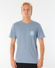 Rip Curl Wettie Logo Tee Mens in Dark Blue