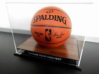 ✺New✺ Basketball DISPLAY CASE - NBA NBL Jordan Bulls Sports Memorabilia Lego