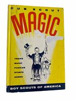 Vintage Cub Scout Book of Magic Tricks Puzzles Stunts Boy Scouts of America