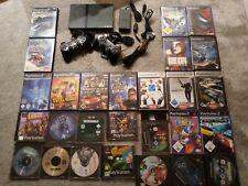 Sony PlayStation 2 Slim Mit 27 Spielen Ps1 Ps2