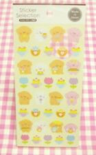 GAIA / Marshmallow Dog Masking Tape Sticker Sheet / Made in Japan