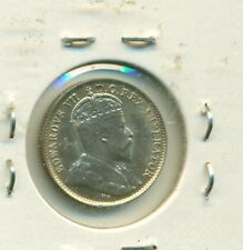 Canada 1903H 5 cents 21 Leaves AU58
