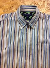 men's TOMMY HILFIGER, M-Large, Multicolour Striped shirt. Long sleeve. Superb.