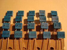 20 Kondensator, capacitor, Epcos MKT 0,1uF, 100nF 100V, RM5