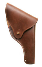 US Smith & Wesson Victory Model Revolver Holster Full Flap in Brown