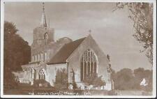 Stebbing, Essex - Parish Church - postcard by Douglas Went c.1910s