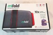 Mifold Grab-and-Go Car Booster Seat, Slate Grey -Brand NEW