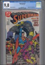 Superman #8 CGC 9.8 1987 DC John Byrne Story, Fantastic Four #249 Cover Homage