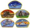 2018 Central Florida Council Popcorn Military CSP Patch Badge Set BSA Lot FOS